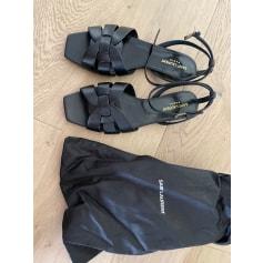 Sandales plates  Saint Laurent  pas cher