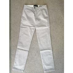 Pantalon droit Angelo Litrico  pas cher
