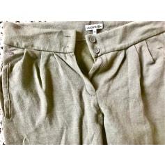 Pantalon slim, cigarette Lacoste  pas cher