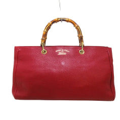 Leather Oversize Bag Gucci