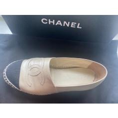 Ballerines Chanel Espadrille pas cher