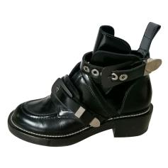 Bottines & low boots motards Balenciaga  pas cher