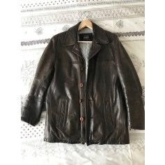 Leather Coat Redskins