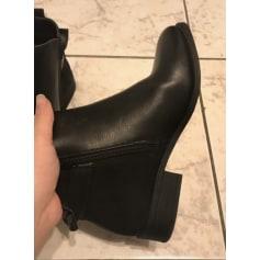 Bottines & low boots à compensés Kiabi  pas cher