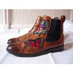 Bottines & low boots plates Melvin & Hamilton  pas cher