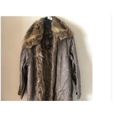 Manteau en fourrure Burberry  pas cher