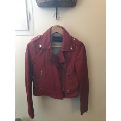 Leather Zipped Jacket Oakwood