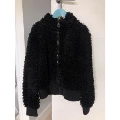 Manteau en fourrure Zara  pas cher