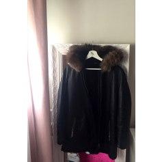 Manteau en cuir Cuirs Guignard  pas cher