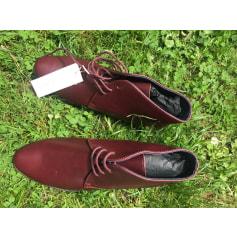 Chaussures à lacets  Closed  pas cher