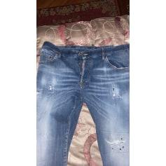 Wide Leg Jeans Dsquared2