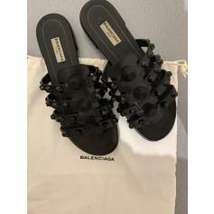 Sandales plates  Balenciaga  pas cher