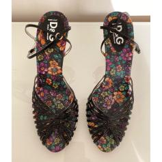 Escarpins à bouts ouverts Dolce & Gabbana  pas cher
