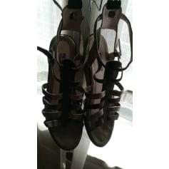 Sandales compensées Fugitive  pas cher