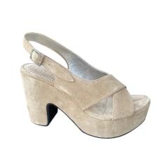 Sandales compensées Free Lance  pas cher