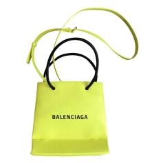 Lederhandtasche Balenciaga Shopping
