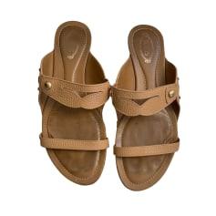 Sandales plates  Tod's  pas cher