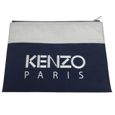 Sac pochette en tissu Kenzo  pas cher