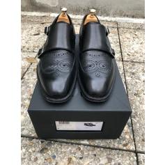 Chaussures à boucles Dior Homme  pas cher