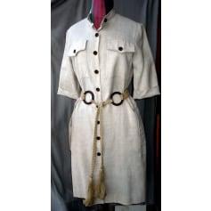 Robe courte Yves Saint Laurent Downtown pas cher