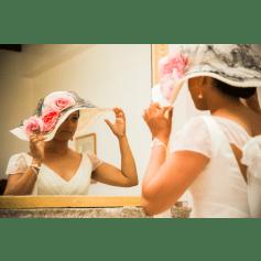 Chapeau de mariage Laurence Bossion  pas cher