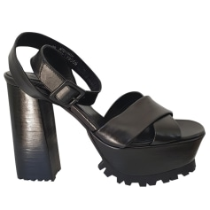 Sandales compensées The Kooples  pas cher