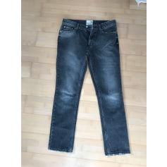 Jeans droit Navy Paris  pas cher