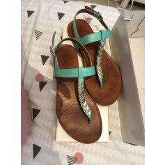 Sandales plates  Bocage  pas cher