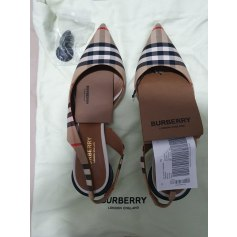 Sandales à talons Burberry  pas cher