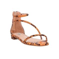 Sandales plates  Bibi Lou  pas cher