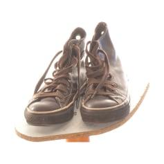 Bottines & low boots plates Converse  pas cher