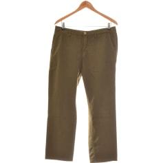 Pantalon droit Massimo Dutti  pas cher