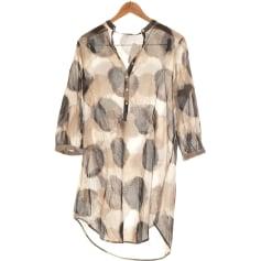 Robe mi-longue Sisley  pas cher