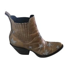 Cowboy Ankle Boots Mexicana