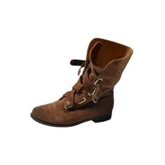 Flat Ankle Boots Adolfo Dominguez