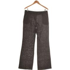 Pantalon évasé Promod  pas cher