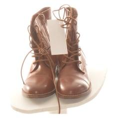 Bottines & low boots plates Etam  pas cher