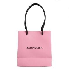 Lederhandtasche Balenciaga