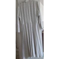 Robe mi-longue Emmanuelle Khanh  pas cher