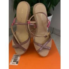 Sandales compensées Mellow Yellow  pas cher