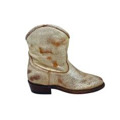 Santiags, bottines, low boots cowboy Ash  pas cher