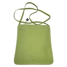 Leather Shoulder Bag Lancel
