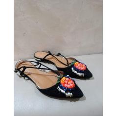 Sandales plates  Aquazzura  pas cher