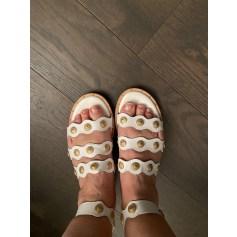 Sandales plates  Kappa  pas cher