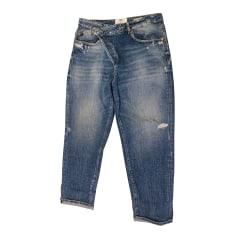 Jeans large, boyfriend Le Temps des Cerises  pas cher
