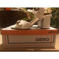 Sandales à talons Gémo  pas cher