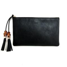 Leather Clutch Gucci