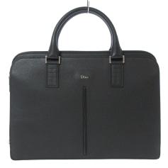 Leather Oversize Bag Dior