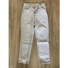 Jeans large, boyfriend Stradivarius  pas cher
