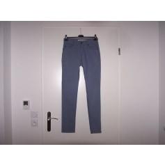 Jeans slim La Fée Maraboutée  pas cher
